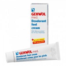 """Крем-дезодорант """"Gehwol Med Deodorant foot cream"""" 75мл для ног"""
