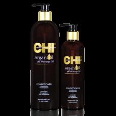 CHI Argan Oil Conditioner - Восстанавливающий кондиционер с маслом арганы, 750 мл