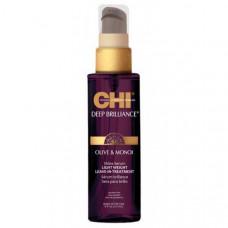 CHI Deep Brilliance Olive & Monoi Shine Serum - Несмываемая сыворотка для волос 89 мл