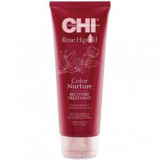 CHI Rose Hip Oil Recovery Treatment - Маска для волос с экстрактом лепестков роз 237 мл