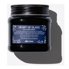 Davines Heart Of Glass Rich Conditioner - Питательный кондиционер для защиты и сияния блонд 250 мл