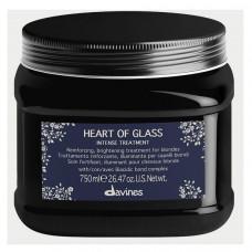 Уход интенсивный Davines Heart Of Glass для защиты и сияния блонд оттенков, 750 мл.