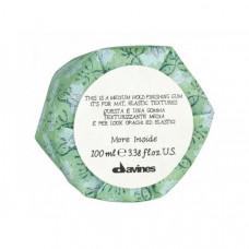 """Гель """"Davines More inside Medium Hold Finishing Gum Эластик"""" 100мл для матовых подвижных текстур"""