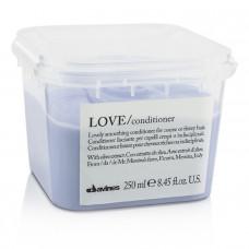"Кондиционер ""Davines Essential Haircare Love Lovely smoothing conditioner"" 250мл разглаживающий завиток"