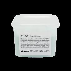 """Кондиционер """"Davines Essential Haircare MINU Conditioner"""" 250мл защитный для сохранения цвета волос"""