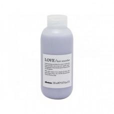 """Крем """"Davines Essential Haircare NEW LOVE Lovely Hair Smoother"""" 150мл для разглаживания завитка"""