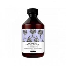 """Шампунь """"Davines New Natural Tech Calming Shampoo"""" 250мл успокаивающий для чувствительной кожи головы"""