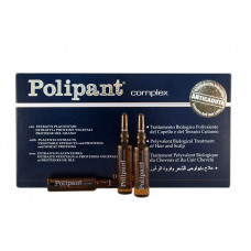 DIKSON AMPOULE Polipant Complex Уникальный биологический ампульный препарат с протеинами плацентарными экстрактами для лечения выпадения волос 12х10мл