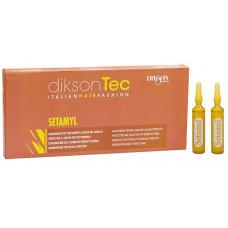 DIKSON AMPOULE SETAMYL - Ампульное средство при любой щелочной обработке волос 12 х 12мл