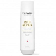 "Шампунь ""Goldwell Dualsenses Rich Repair Restoring Shampoo"" 250мл восстанавливающий"
