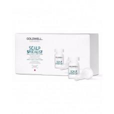 "Сыворотка ""Goldwell Dualsenses Scalp Specialist Anti-Hairloss Serum"" 8 х 6мл против выпадения волос"