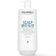 """Шампунь """"Goldwell Dualsenses Scalp Specialist Deep Cleansing Shampoo"""" 1000мл для глубокого очищения"""
