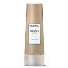 """Кондиционер """"Goldwell Kerasilk Premium Control Conditioner"""" 200мл для непослушных и пушащихся волос"""
