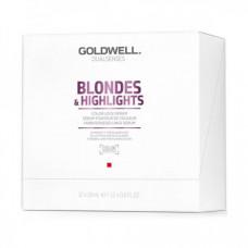 "Сыворотка ""Goldwell Dualsenses Blondes & Highlights Color Lock Serum"" 12 х 18мл для сохранения блонд-оттенка"