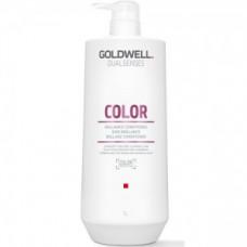 """Шампунь """"Goldwell Dualsenses Color Brilliance Shampoo"""" 1000мл для блеска окрашенных волос"""