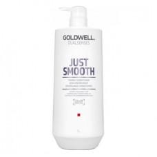 """Кондиционер """"Goldwell Dualsenses Just Smooth Taming Conditioner"""" 1000мл усмиряющий для непослушных волос"""