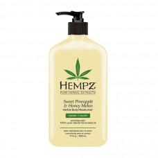 Молочко для тела увлажняющее Ананас & Медовая Дыня / Sweet Pineapple&Honey Melon Herbal Body Moisturizer