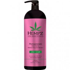 Кондиционер растительный увлажняющий и разглаживающий Гранат / Daily Herbal Moisturizing Pomegranate Conditioner 1000 мл