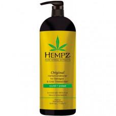 Кондиционер растительный Оригинальный для поврежденных окрашенных волос / Original Herbal Conditioner For Damaged & Color Treated Hair 1000 мл