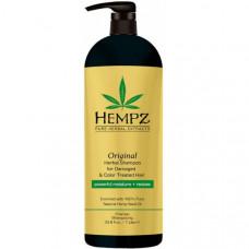 Шампунь растительный Оригинальный для поврежденных окрашенных волос / Original Herbal Shampoo For Damaged & Color Treated Hair 1000 мл