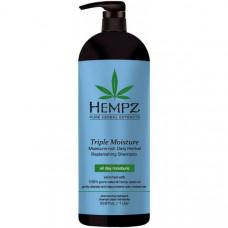 Шампунь Тройное увлажнение / Triple Moisture Replenishing Shampoo 1000 мл