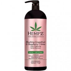 Шампунь Грейпфрут и Малина для сохранения цвета и блеска окрашенных волос / Blushing Grapefruit&Raspberry Creme Shampoo 1000 мл