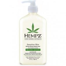 """Молочко """"Hempz Sensitive Skin Herbal Moisturizer Чувствительная кожа увлажняющее"""" 500мл для тела"""