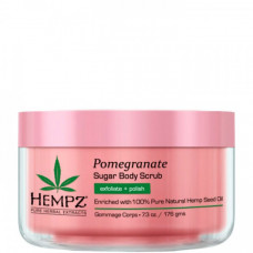 "Скраб ""Hempz Sugar & Pomegranate Body Scrub сахар и гранат"" 176гр для тела"