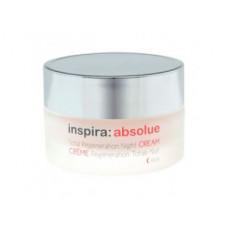 """Лифтинг-крем """"Inspira Cosmetics inspira:absolue Total Regeneration Night Cream Rich ночной обогащенный регенерирующий"""" 50мл"""