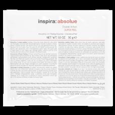"""Скраб """"Inspira Cosmetics inspira:absolue Double Action Super Peel энзимный 2-в-1"""" 10 х 30гр"""