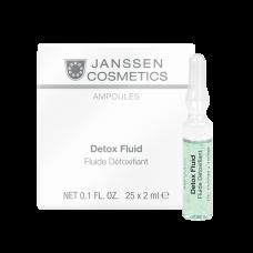 Detox Fluid - Детокс-сыворотка в ампулах - 3 х 2мл