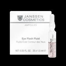 Eye Flash Fluid - Увлажняющая и восстанавливающая сыворотка в ампулах для контура глаз - 25 х 1,5мл