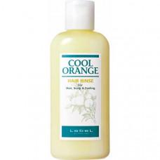"Бальзам-ополаскиватель ""Lebel Cool Orange Hair Rinse Холодный Апельсин"" 200мл"