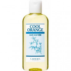 Lebel Cool Orange Hair Soap Ultra Cool - Шампунь для волос «Ультра Холодный Апельсин 200 мл