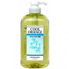 Lebel Cool Orange Hair Soap Ultra Cool - Шампунь для волос «Ультра Холодный Апельсин 600мл