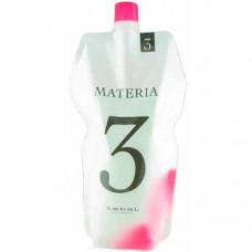 Lebel Materia Oxy 3% - Оксидант для смешивания с краской Materia 1000 мл