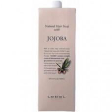"Шампунь ""Lebel Natural Hair Soap Treatment Jojoba"" 1600млс маслом жожоба"