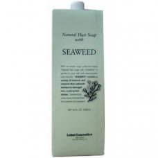 "Шампунь ""Lebel Natural Hair Soap Treatment Seaweed"" 1600мл с морскими водорослями"