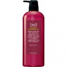 """Шампунь """"Lebel TheO Scalp Shampoo"""" 600мл от выпадения волос для мужчин"""