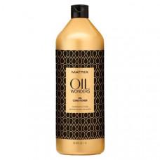 """Кондиционер """"Matrix Oil Wonders Conditioner"""" 1л невесомый обогащенный марокканским аргановым маслом"""