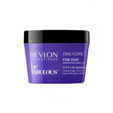 "Маска ""Revlon Professional Be Fabulous C.R.E.A.M. Mask For Fine Hair"" 200мл для тонких волос"