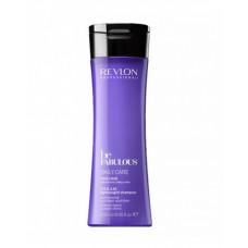 "Шампунь ""Revlon Professional Be Fabulous C.R.E.A.M. Shampoo For Fine Hair"" 250мл очищающий для тонких волос"