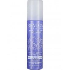 """Кондиционер """"Revlon Professional Equave Instant Beauty Blonde Detangling Conditioner"""" 200мл 2-х фазный для блондированных, мелированных и седых волос"""