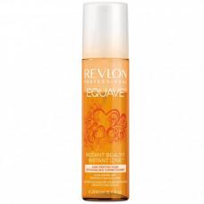 """Кондиционер """"Revlon Professional Equave Instant Beauty Sun Protection Detangling Conditioner"""" 200мл 2-х фазный для волос, подверж. воздействию солнца"""