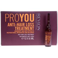 Revlon Professional Pro You Anti-Hair Loss Treatment - Средство против выпадения волос 12 х 6мл