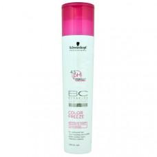 Schwarzkopf BONACURE Color Freeze Sulfate-Free Shampoo Сияние Цвета Шампунь бессульфатный, 250 мл