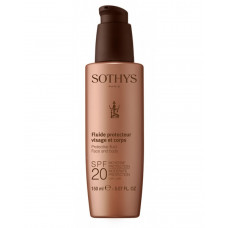 Protective Fluid Face And Body SPF20 Moderate Protection UVA/UVB     - Молочко с SPF20 для лица и тела 150мл