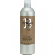 """Шампунь """"TIGI Bed Head B for Men Clean Up Daily Shampoo"""" 750мл для ежедневного применения"""