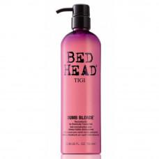 """Кондиционер-маска """"TIGI Bed Head Dumb Blonde"""" 750мл для блондинок"""