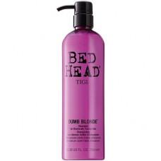 """Шампунь """"TIGI Bed Head Dumb Blonde"""" 750мл для блондинок"""